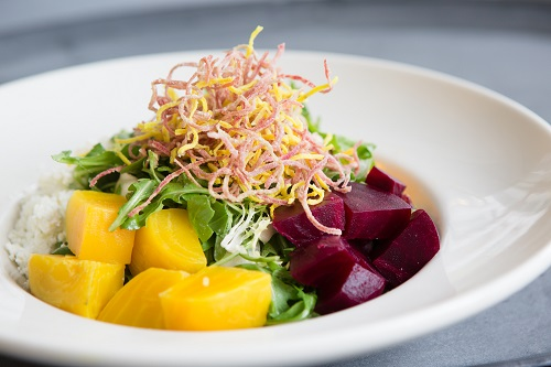 Beet Salad at FareStart Restaurant in Seattle