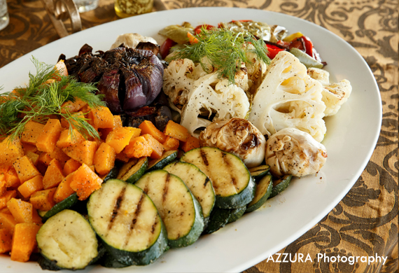 FareStart catering vegetable platter