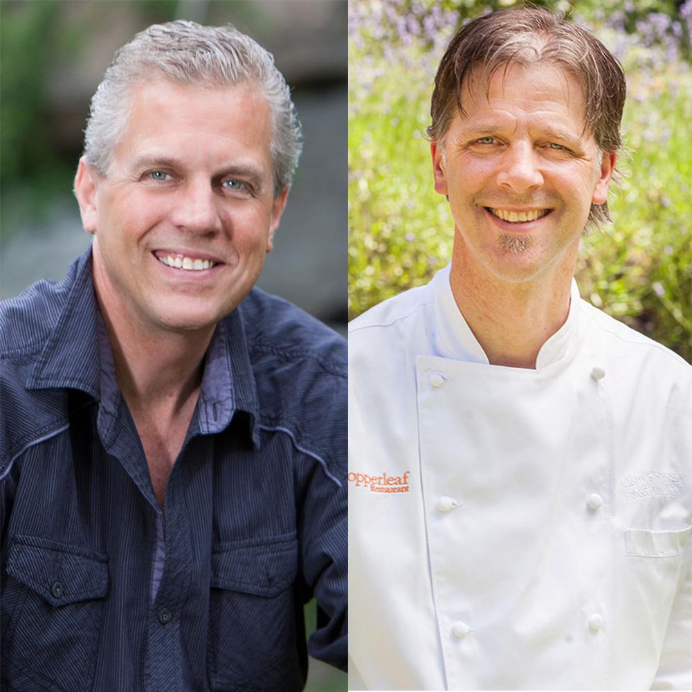 Chefs Roy Breiman and Adam Stevenson | Copperleaf Restaurant