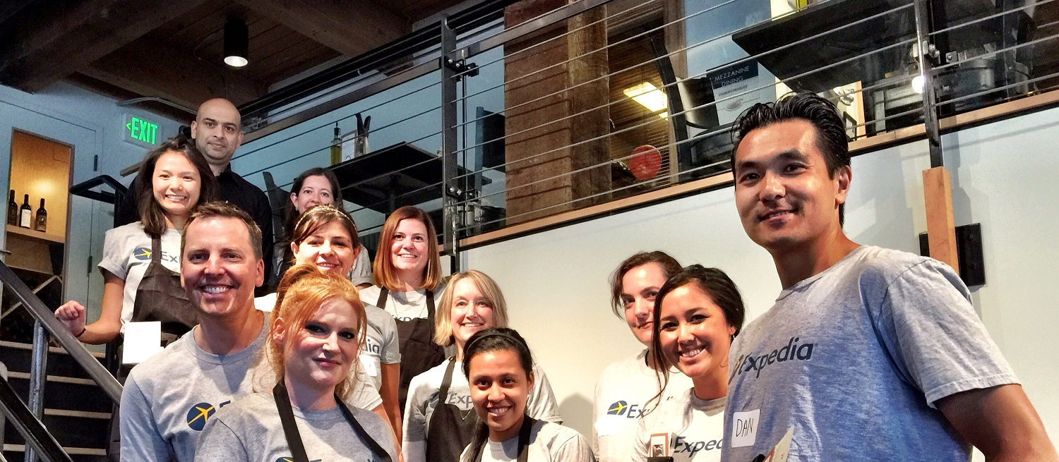 FareStart corporate volunteers Seattle