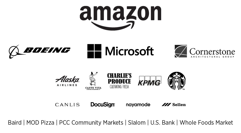 FareStart Gala Auction Sponsors: Amazon, Boeing, Microsoft