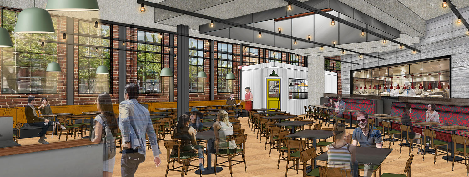 New FareStart Restaurant Rendering