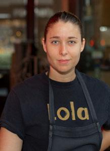 Chef Tori Mann | Lola
