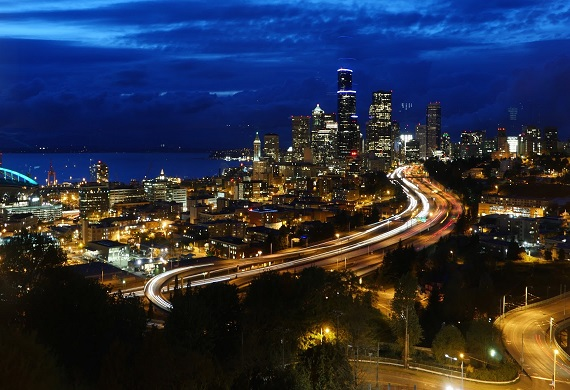 View from The Panoramic Room Seattle's premier wedding and event venue