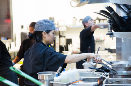 Apprentices learn real-world skills to enhance their foodservice careers