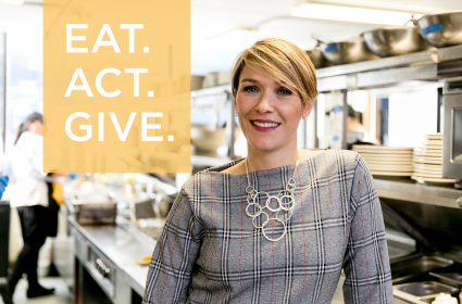 Angela Stowell, FareStart CEO, shares about her first few months at FareStart